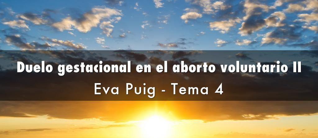 Duelo gestacional en el aborto voluntario II
